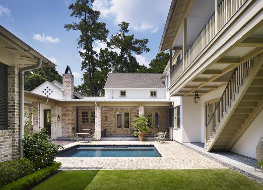 pools, pavilions, and porches